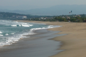 From Zacatala Beach looking South